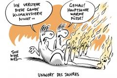 """Angst vor Klimakrise als Weiberleiden:  """"Klimahysterie"""" ist Schmähung in altertümlicher Debattenkultur"""