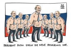 Rücktritt von Russlands Regierung: Medwedjew macht Weg frei für Putins Reformen
