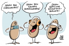 Coronavirus: In Deutschland steigt bundesweit die Nachfrage nach Atemmasken