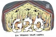 Klimaschutz-Report: Kein G20-Staat auf 1,5-Grad-Kurs