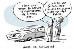 """Geplante Tesla-Fabrik bei Berlin: """"Meilenstein für E-Mobilität"""""""