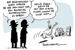 Pkw-Maut: Rechnungshof wirft Scheuer Rechtsverstöße vor, Kabinettsklausur: Mehr Geld für E-Autos und Mobilfunk