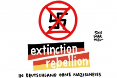 XR-Mitgründer relativiert den Holocaust:  Extinction Rebellion erwägt Ausschluss von Roger Hallam