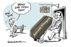 Geplantes GroKo-Beratungsgremium:  Bayern steigt aus Bildungsrat aus