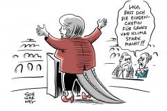 Merkel redet gegen GroKo-Aus an: Für AfD ist Klima das neue Flüchtlinge