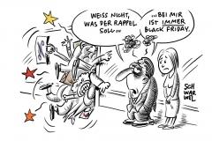 Black Friday: Schnäppchenjagd online und im Einzelhandel