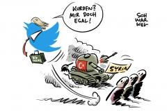 Türkei vor Einmarsch: Trump verteidigt US-Abzug aus Syrien