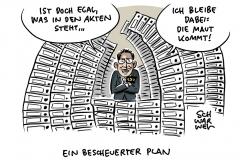 Maut CSU Scheuer Verkehrsminister