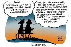Brexit und kein Ende: Drängende Themen geraten in den Hintergrund