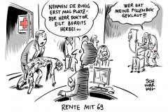 Lebenserwartung steigt: Bundesbank fordert Rente mit 69