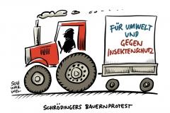 Bundesweite Proteste: Tausende Bauern legen Verkehr lahm