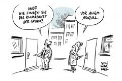 Nachteile für Geringverdiener, Belastung für Rentner, bürokratisch aufwändig: Rechnungshof knöpft sich Klimapaket vor