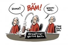 Verwaltungsgericht Berlin:  Klimaklage gegen Regierung abgewiesen