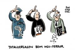 Abschlussbericht des zweiten Thüringer NSU-Untersuchungsausschuss: Polizei, Justiz und Verfassungsschutz haben versagt