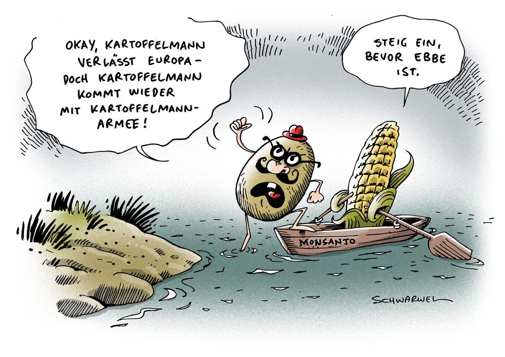 KARIKATUREN-AUSWAHL FÜR UNSER KARIKATUREN-BUCH 2012+2013