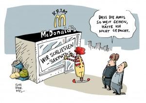 Ukraine-Krise: McDonald's schließt Burger-Restaurants auf der Krim