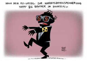 Vorratsdatenspeicherung: Europas oberster Gerichtshof kippt Dauerüberwachung