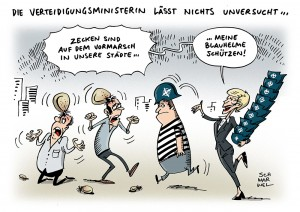Zecken und Bundeswehr