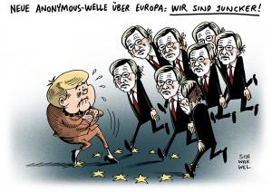 Jean-Claude Juncker: Nominierung zum EU-Kommissionspräsidenten