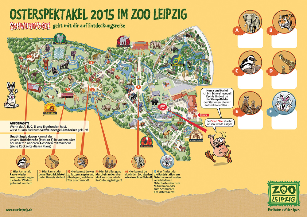 Schweinevogel Osterspektakel Im Zoo Leipzig 05 06 04 2015