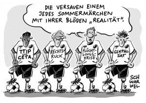 EM 2016: König Fußball wirft seinen Medienschatten voraus