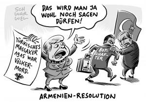 Armenien-Resolution im Bundestag verabschiedet: Türkei ruft Botschafter aus Berlin zurück
