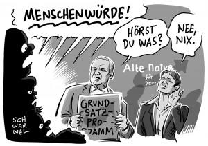 """Verfassungsrechtler über die AfD: """"Unvereinbar mit Grundgesetz"""" AfD verstößt in ihrem Grundsatzprogramm gegen Menschenwürde"""