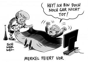 Gauck-Nachfolger als Bundespräsident: Merkel kündigt Entscheidung für Herbst an
