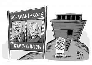 US-Vorwahlen: Clinton setzt sich in vier von sechs Staaten durch