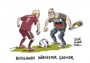 Gewalt bei Fußball-EM: UEFA verhängt nach Ausschreitungen in Marseille Strafe gegen Russland