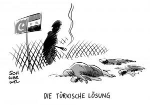 Vorwürfe gegen Türkei: Syrische Flüchtlinge an Grenze erschossen?