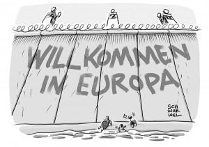 Geflüchtete: Willkommen in Europa?