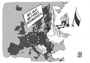 Ukraine-Konflikt: EU verlängert Sanktionen gegen Russland
