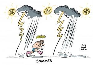 Unwetter in Deutschland: Festivals unterbrochen, Festspiele abgesagt