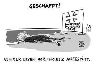 Von der Leyen nach Incirlik: Türkei plötzlich offen für Bundeswehr-Besuch
