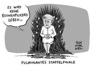 Brexit: Merkel gibt die Eiserne Kanzlerin