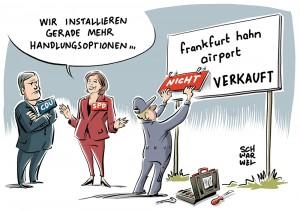 Frankfurt Hahn wie Nürburgring: Verkauf des Flughafens offenbar auf der Kippe