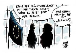 Flüchtlingskrise wegen EU-Türkei-Pakt: Kein Plan B