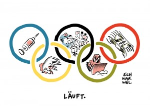 Olympia: Dopingdebatten, Demonstrationen, Drohungen gegen Träger des Olympischen Ordens