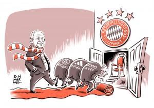 Fußball Bundesliga: Hoeneß als Präsident mit Sitz im Aufsichtsrat