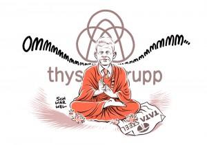 """""""Man muss auch mal Unsicherheit aushalten."""" Thyssenkrupp-Chef schweigt zu Fusionsgesprächen mit Tata"""