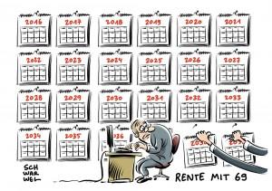 Länger arbeiten: Bundesbank fordert Rente mit 69