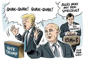 Enthüllungen über Chefberater: Trumps geheime Russland-Connection