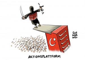 """Brisante Einschätzung der Bundesregierung: Türkei """"Aktionsplattform"""" für Islamisten – Ankara wirft Deutschland """"verdrehte Mentalität"""" vor"""