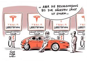 Elektromobilität mit Tesla Model S: Serienautos mit größeren Batterien zur schnellsten Beschleunigung