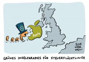Streit zwischen EU und Irland: Apple soll 13 Milliarden Euro an Steuern nachzahlen