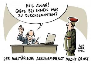 Kabinett beschließt Gesetzesänderung: MAD checkt künftig Bundeswehrbewerber