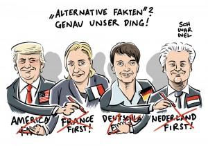 Rechtspopulismus: Europäische Nationalisten wollen Trumps Erfolg auf EU