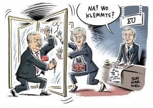 Türkei und EU: Merkel zieht rote Linie; Brexit-Verhandlungen: Streit um die Rechnung