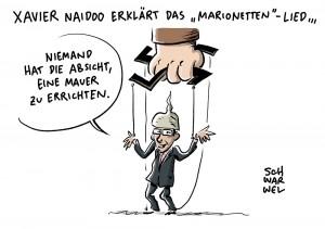 Söhne Mannheims Xavier Naidoo reagiert auf Kritik: Krisengespräch beim Oberbürgermeister